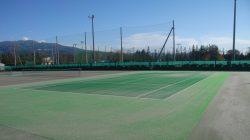 山形商業高テニスコート改修